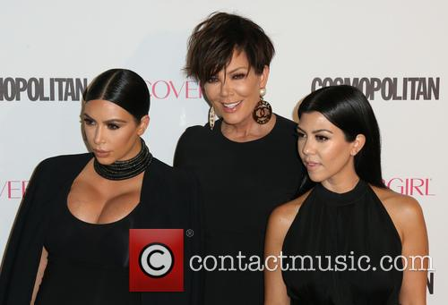 Kim Kardashian, Kris Jenner and Kourtney Kardashian 3