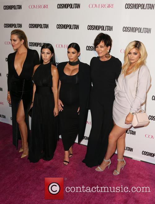 Khloe Kardashian, Kourtney Kardashian, Kim Kardashian, Kris Jenner and Kylie Jenner 3