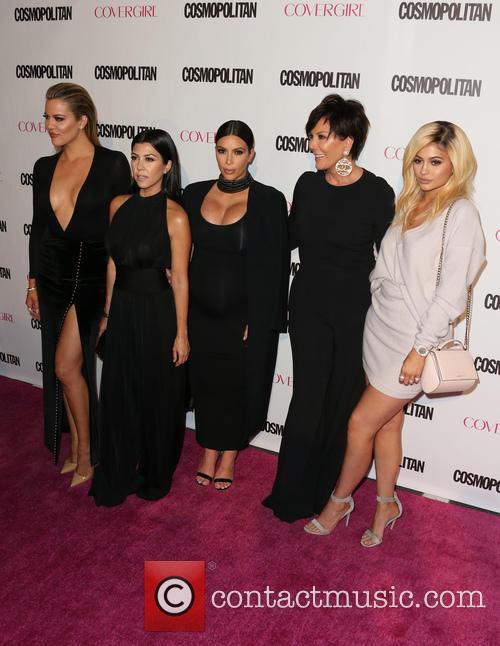 Khloe Kardashian, Kourtney Kardashian, Kim Kardashian, Kris Jenner and Kylie Jenner 5