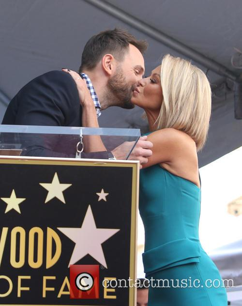 Joel Mchale and Kelly Ripa 1