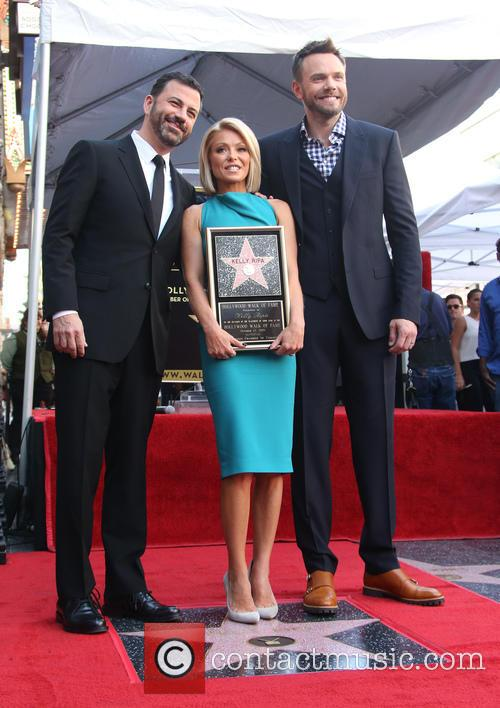 Jimmy Kimmel, Kelly Ripa and Joel Mchale 2