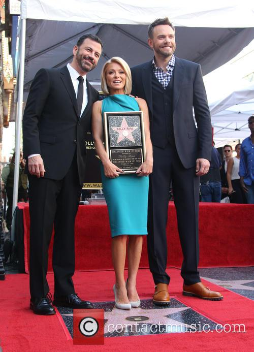 Jimmy Kimmel, Kelly Ripa and Joel Mchale 3