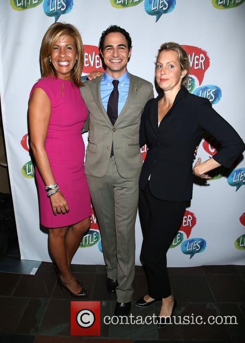 Hoda Kotb, Zac Posen and Alexandra Wentworth