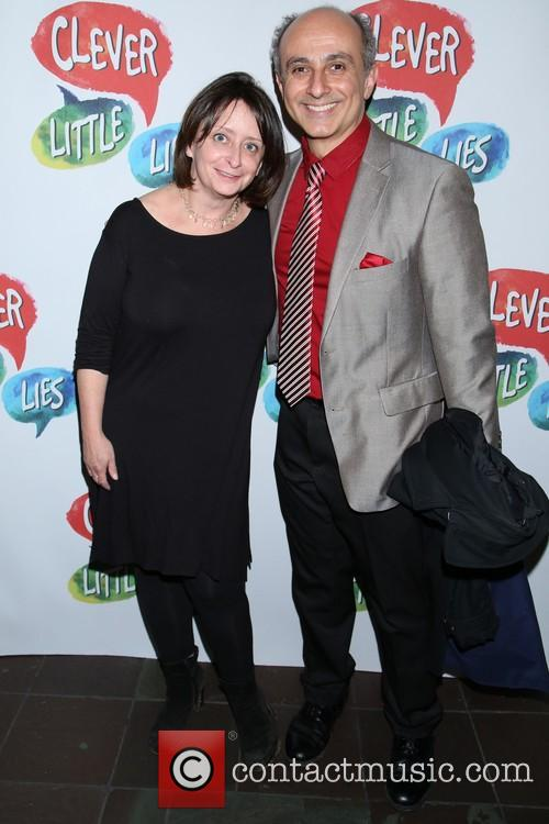 Rachel Dratch and Stephen Derosa