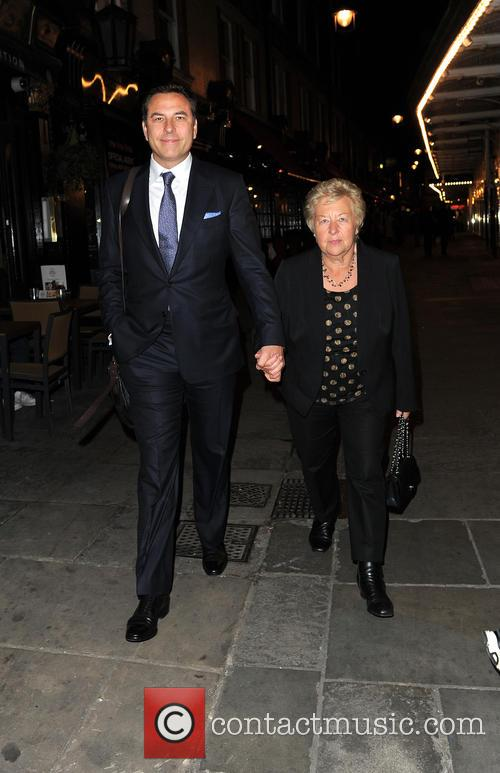 David Walliams and Kathleen Ellis 2