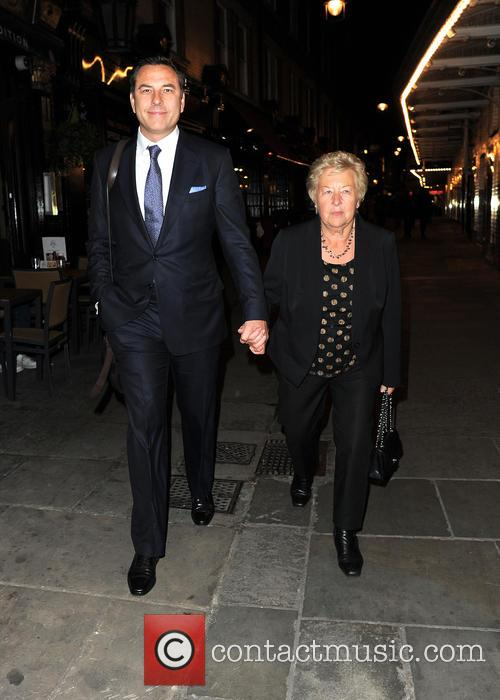 David Walliams and Kathleen Ellis 4