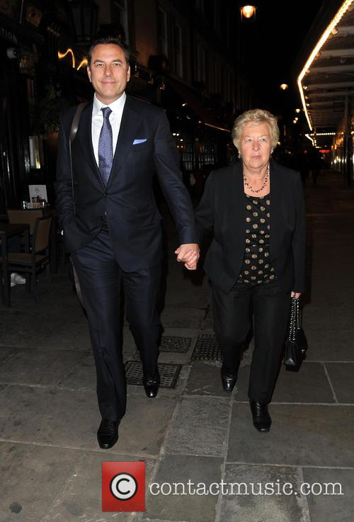 David Walliams and Kathleen Ellis 5