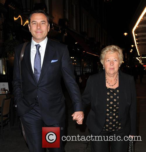 David Walliams and Kathleen Ellis 6
