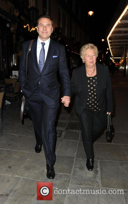 David Walliams and Kathleen Ellis 7