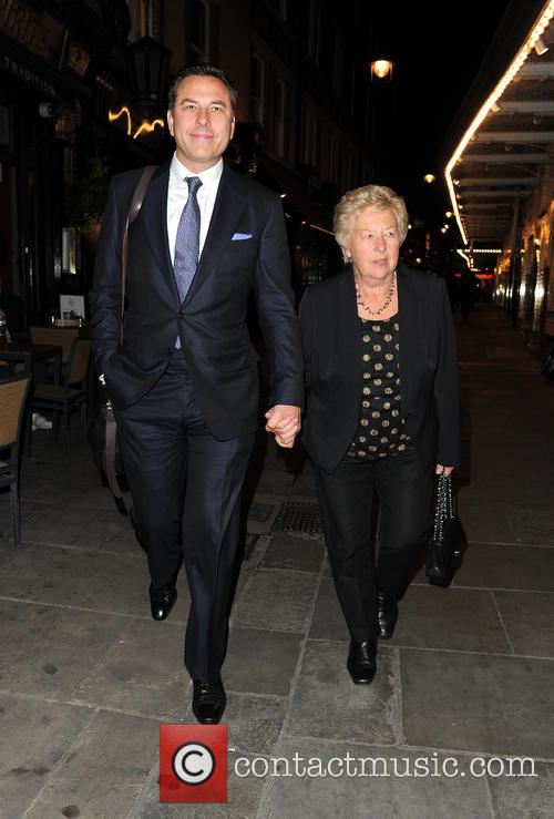 David Walliams and Kathleen Ellis 8