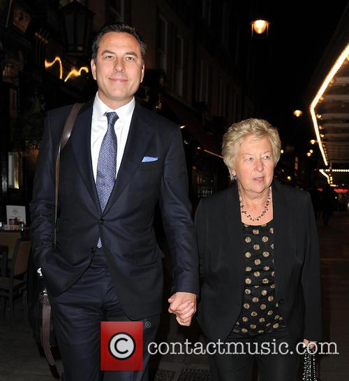 David Walliams and Kathleen Ellis 9