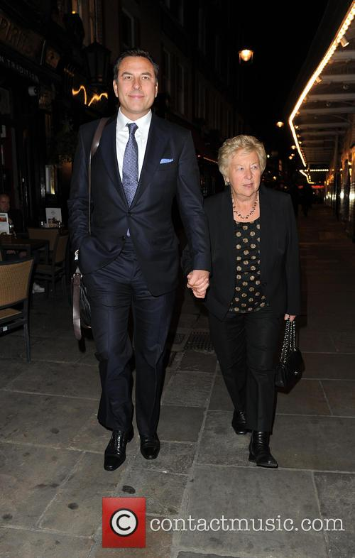 David Walliams and Kathleen Ellis 11