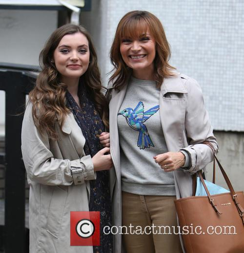 Lorraine Kelly and Rosie Kelly Smith 6