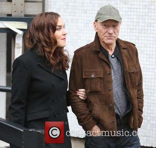 Patrick Stewart and Sunny Ozell 2
