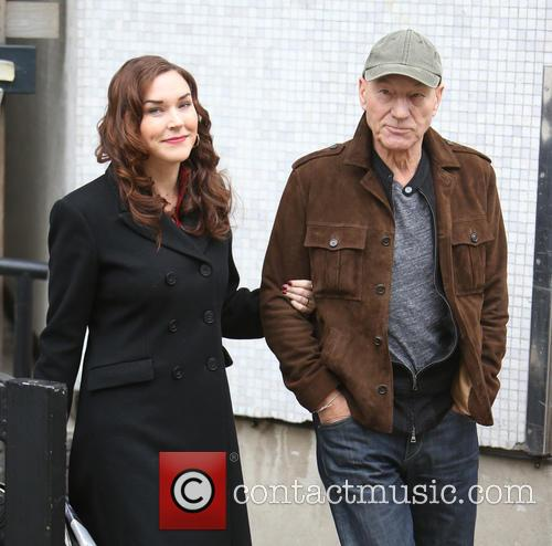 Patrick Stewart and Sunny Ozell 4
