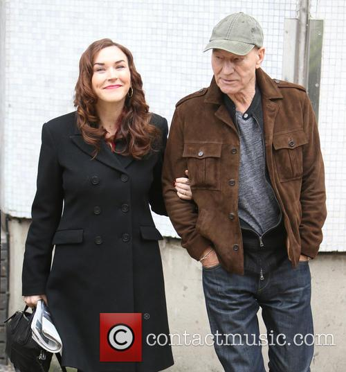 Patrick Stewart and Sunny Ozell 6