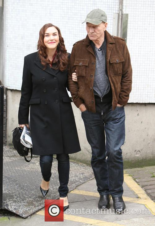 Patrick Stewart and Sunny Ozell 7