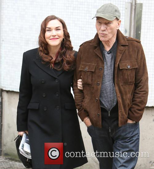 Patrick Stewart and Sunny Ozell 8