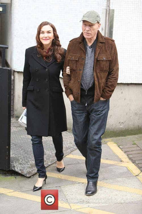 Patrick Stewart and Sunny Ozell 9