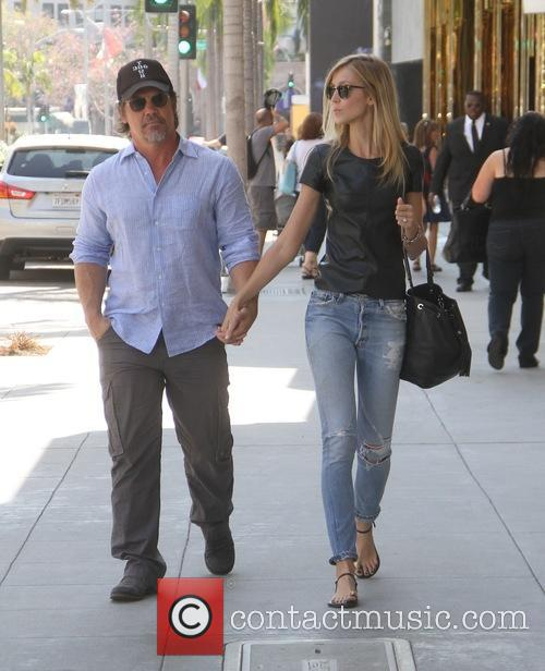 Josh Brolin shopping in Beverly Hills