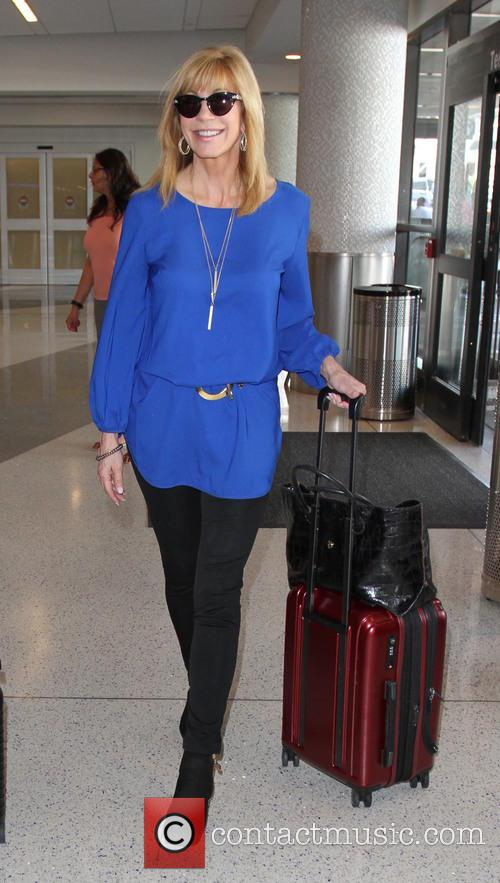 Leeza Gibbons at LAX