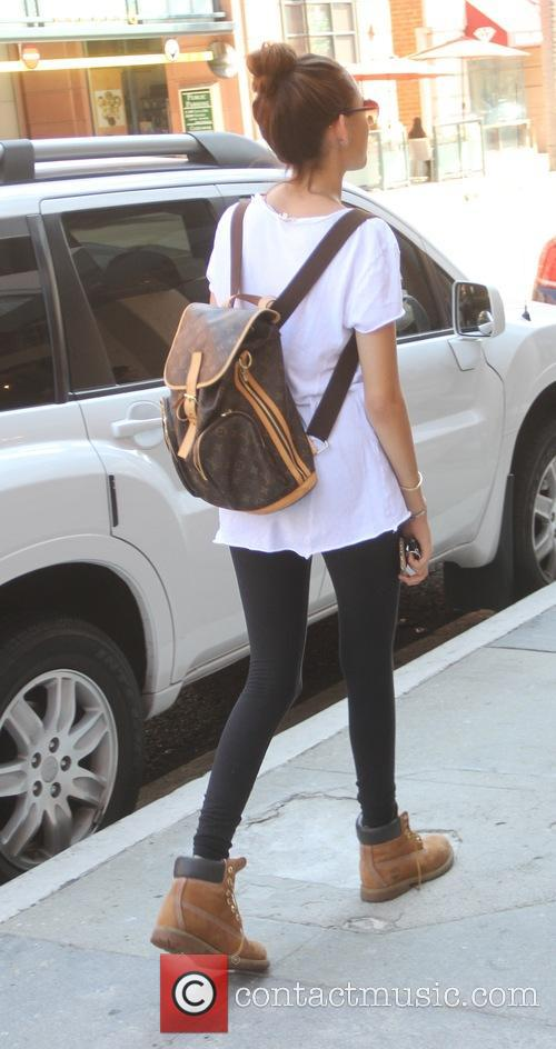 Madison Beer goes shopping in Beverly Hills