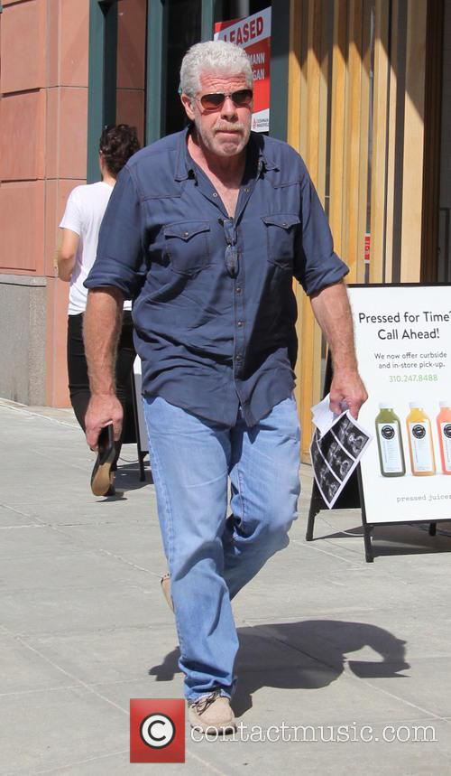 Ron Perlman out and about in Beverly Hills