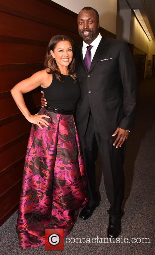 Vanessa Williams and Marcus Allen 1