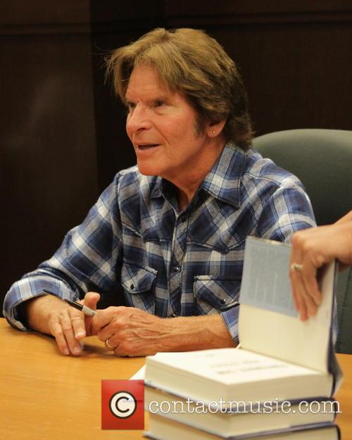 John Fogerty signs copies of his new book...