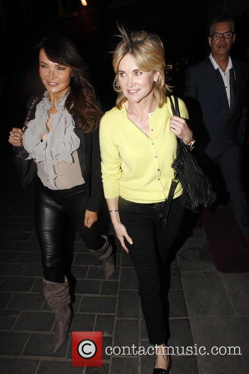 Lizzie Cundy and Anthea Turner 4
