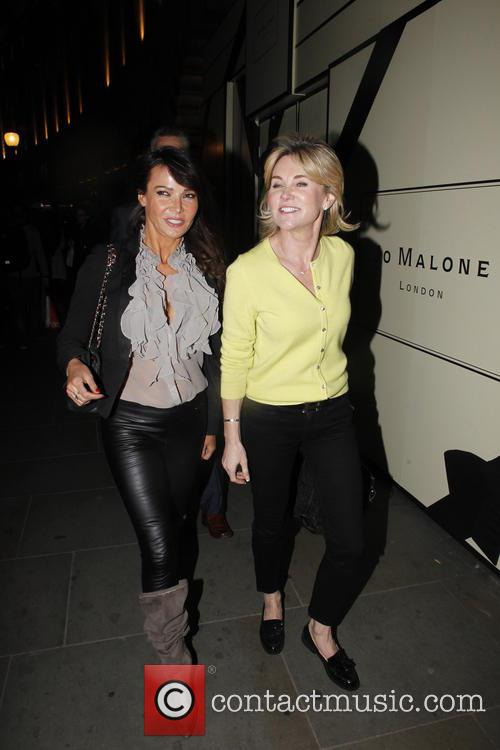Lizzie Cundy and Anthea Turner 6