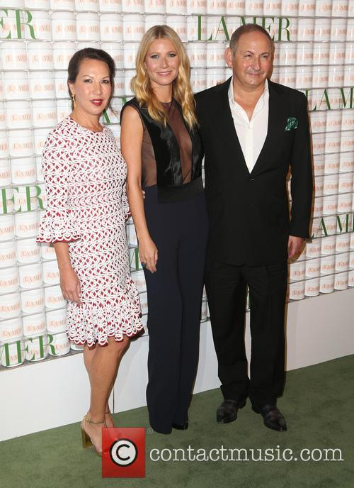 Alina Cho, Gwyneth Paltrow and John Demsey 1