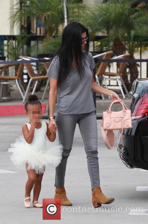 Kourtney Kardashian, Nori and North West 2