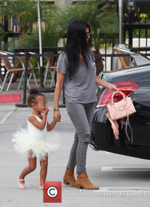 Kourtney Kardashian, Nori and North West 1
