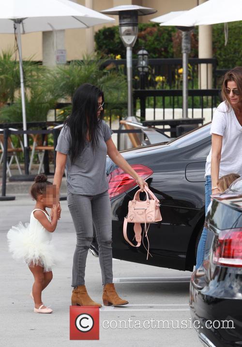 Kourtney Kardashian, Nori and North West 8