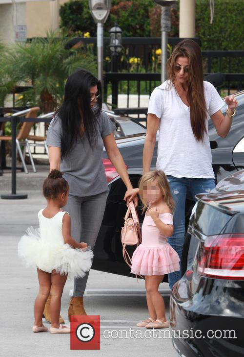 Kourtney Kardashian, Penelope Scotland Disick, Nori and North West 2