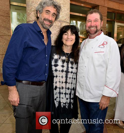 Mitchell Kaplan, Ruth Reichl and Chef Allen Susser 1
