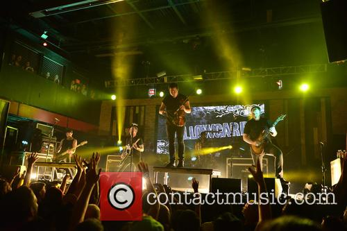 Sean Mackin, Ryan Key, Nate Young, Josh Portman, Ryan Mendez and Yellowcard 2