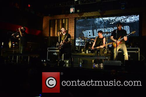 Sean Mackin, Ryan Key, Nate Young, Josh Portman, Ryan Mendez and Yellowcard 6