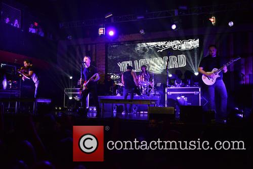 Sean Mackin, Ryan Key, Nate Young, Josh Portman, Ryan Mendez and Yellowcard 7