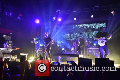 Sean Mackin, Ryan Key, Nate Young, Josh Portman, Ryan Mendez and Yellowcard 8