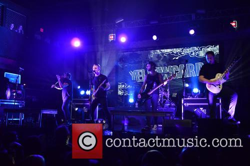 Sean Mackin, Ryan Key, Nate Young, Josh Portman, Ryan Mendez and Yellowcard 9