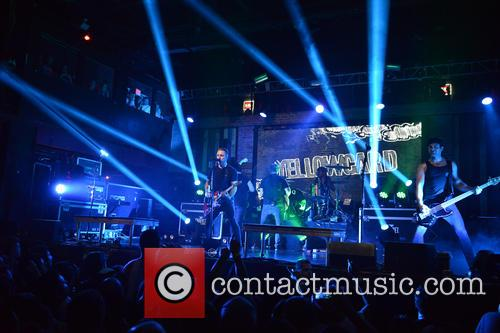 Sean Mackin, Ryan Key, Nate Young, Josh Portman, Ryan Mendez and Yellowcard 10