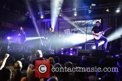 Sean Mackin, Ryan Key, Nate Young, Josh Portman, Ryan Mendez and Yellowcard 1