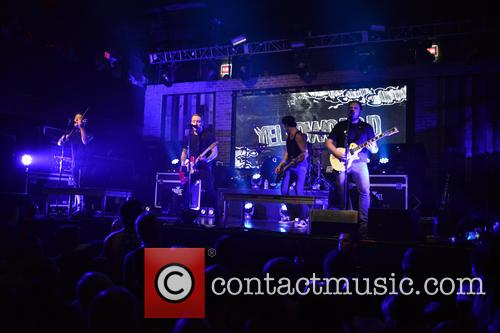 Sean Mackin, Ryan Key, Nate Young, Josh Portman, Ryan Mendez and Yellowcard 11
