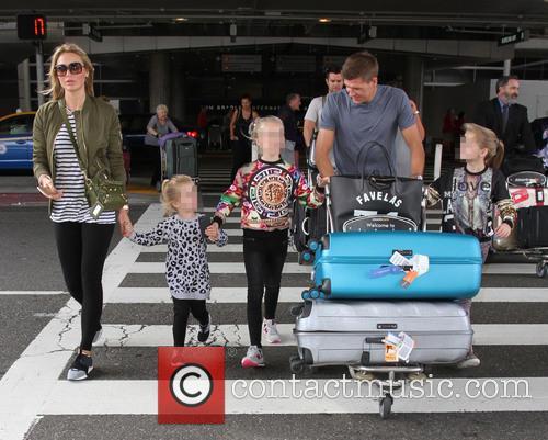 Steven Gerrard, Alex Gerrard, Lilly-ella Gerrard, Lourdes Gerrard and Lexie Gerrard 4