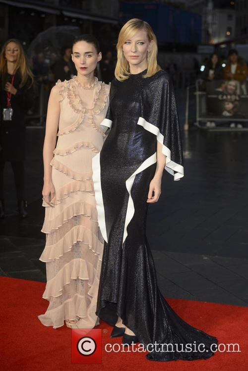 Rooney Mara and Cate Blanchett 3