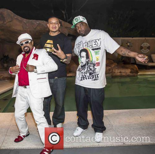 Curtis Young, Spice 1, Gene Anderson and Poo Poo Man 1