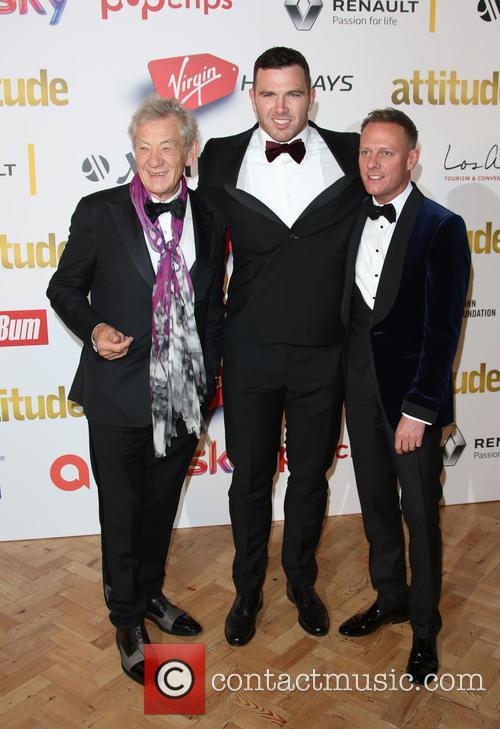 Sir Ian Mckellen, Keegan Hirst and Antony Cotton 1