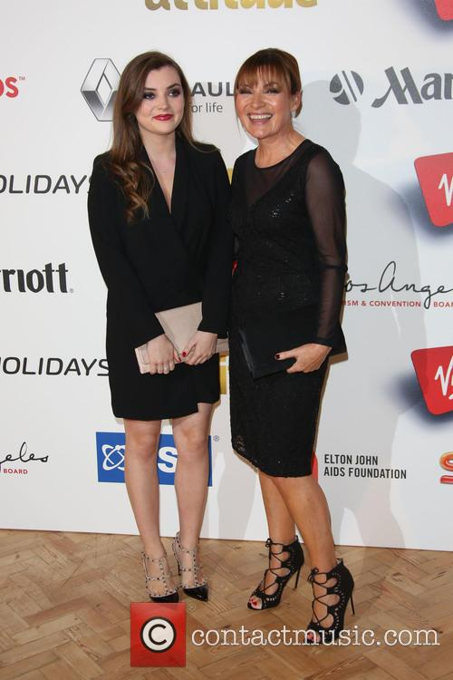 Lorraine Kelly and Daughter 1